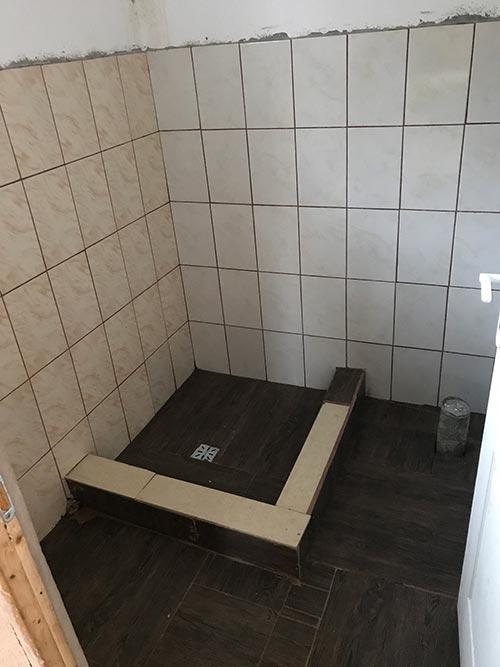 Det nye badet.